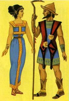 Tradizioni - L Uomo nelle sue diversità  Abbigliamento nei secoli ... 0336427ae3c